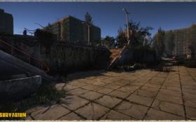 Обои город, здание, зона, Survarium