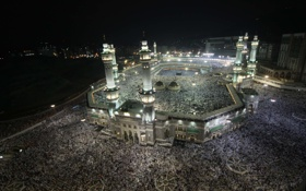 Обои Саудовская Аравия, Mecca, Hajj, Аль-Масджид Аль-Харам, умра, Мекка, хадж