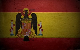 Обои флаг, герб, Испания