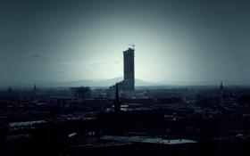 Картинка город, небоскреб, дома