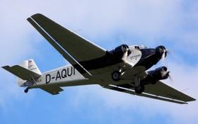 Обои авиация, самолёт, JU-52