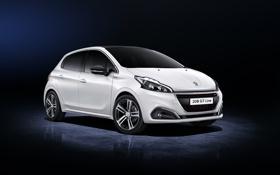 Обои Peugeot, пежо, 5-door, 208, 2015