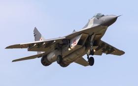 Обои истребитель, полёт, многоцелевой, MiG-29, МиГ-29