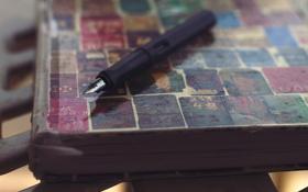 Картинка ручка, блокнот, тетрадь