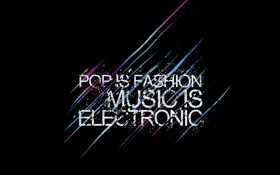 Обои music, power, electro