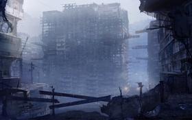 Картинка город, руины, то что осталось