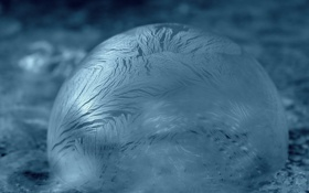Обои пена, вода, узор, пузырь