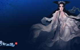 Картинка девушка, фентези, игра, арт, Китай, фейка, онлайн