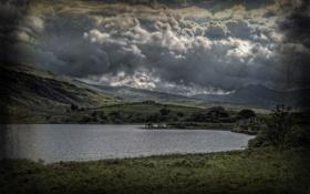 Картинка облака, city, город, фотограф, photography, Уэльс, Wales
