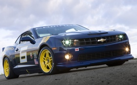 Обои Concept, Chevrolet, концепт, Camaro, шевроле, передняя часть, камаро