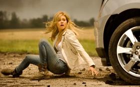 Обои девушка, модель, Трансформеры, Transformers, Nicola Peltz, Tessa Yeager, Age Of Extinction