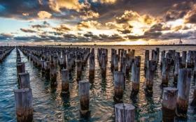 Обои Melbourne, Australia, Victoria, Port Melbourne