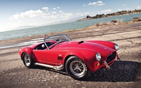 Обои fast, 66', red, 427, Shelby