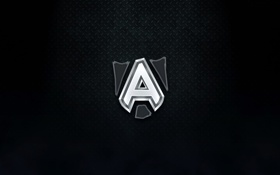 Картинка лого, команда, dota2, The Alliance, шведы