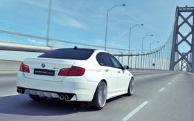 Обои мост, BMW