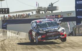 Обои прыжок, скорость, Ford, тень, Barbados, 2015, экстремальный спорт