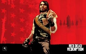 Обои джон, игры, rockstar, wanted, Red Dead Redemption, марстон