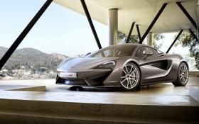 Обои купе, McLaren, Coupe, макларен, 2015, 570S