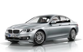 Обои машина, серый, BMW, седан, wallpapers, Sedan, 535i