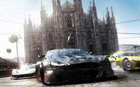Обои машины, Италия, Race Drive, миланский собор