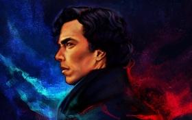 Обои детектив, Benedict Cumberbatch, Sherlock, Sherlock Holmes, TV series