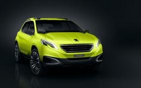 Обои концепт, премьера, Peugeot 2008