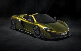 Обои McLaren, кабриолет, макларен, Spider, 675LT