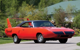 Обои red, muscle car, 1970, Plymouth, плимут, Superbird, Road Runner