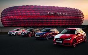 Обои Ауди, Inter, Barcelona, Milan, Allianz Arena, Альянц Арена, Bayern