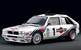 Обои ралли, Lancia, наклейки, Rally, Delta, дельта, лянча