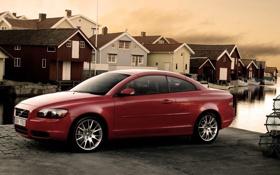 Обои Volvo, red, C70