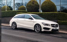 Картинка Mercedes, CLA 45, амг, X117, Shooting Brake, мерседес, AMG