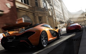 Обои гонка, игра, эксклюзив, спорткары, McLaren P1, xbox one, Forza Motorsport 5