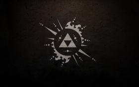 Картинка фон, обои, черный, треугольники, минимализм, арт, картинка