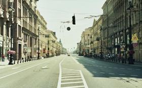 Картинка машины, движение, улица, Питер, Санкт-Петербург, Россия, Russia