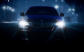 Картинка машина, туман, GTA 4, BMW x3