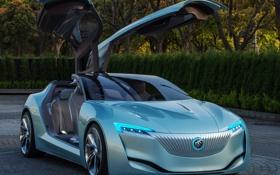 Обои машина, Concept, двери, концепт, Riviera, Buick