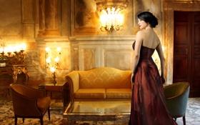 Картинка vintage, woman, hotel