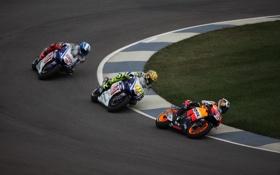 Картинка дорога, мотоциклы, спорт, гонки, байки, мото обои, moto racing