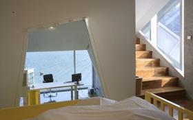 Обои дизайн, коттедж, island house, жилое пространство, дом, интерьер, стиль