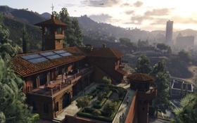 Картинка город, дом, лос сантос, gta 5