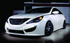 Обои Hyundai, Sonata, new, tuning