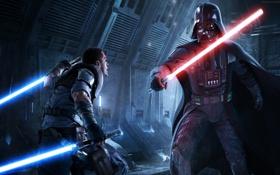 Картинка Star Wars, Звездные войны, Darth Vader, Дарт Вейдер, The Force Unleashed 2, starkiller, старкиллер