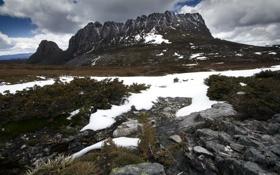 Картинка пейзаж, камни, гора