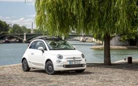 Обои Fiat, фиат, 2015, 500C