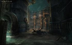Картинка металл, робот, коридор, The Elder Scrolls Online