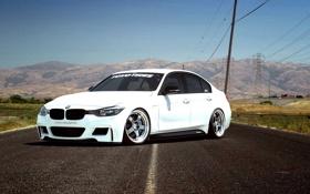 Картинка BMW, Машина, Тюнинг, БМВ, Tuning, F30, Stance