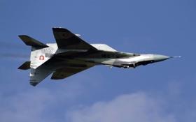 Обои истребитель, пилот, полёт, многоцелевой, MiG-29AS