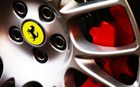 Картинка конь, логотип, колесо, logo, ferrari, феррари
