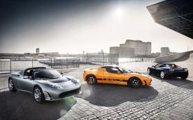 Обои Roadster, cars, auto, Tesla, тесла, электрокар, Tesla Roadster